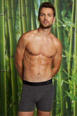 Bamboo Basics Boxershorts Rico (3-pack) Grijs, Navy & Rood(1)