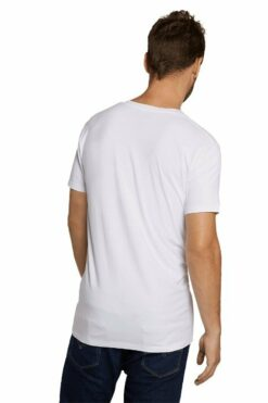 Bamboo Basics T-shirt Velo (2-pack) Wit(1)
