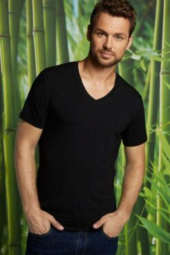 Bamboo Basics T-shirt Velo (2-pack) Zwart(1)