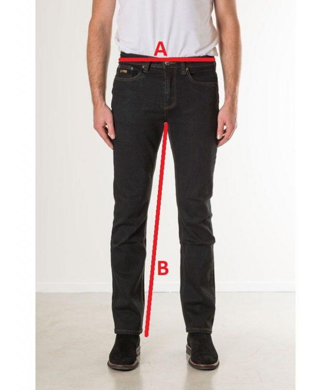 Jeansmaten New Star Jeans Jacksonville Blue Black