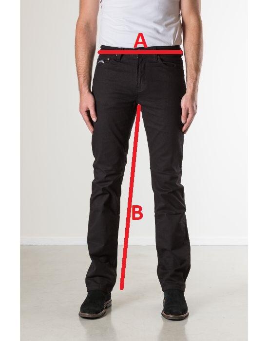 Jeansmaten New Star Jeans Jacksonville Twill Black