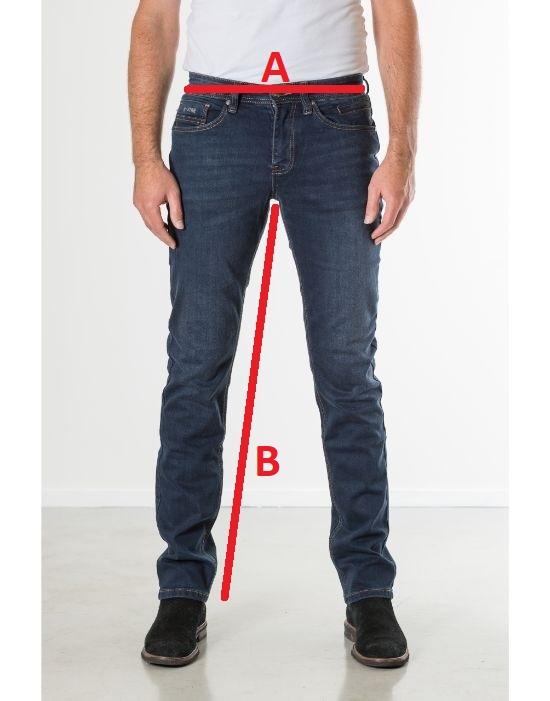 Jeansmaten New Star Jeans Jv Slim Dark Blue