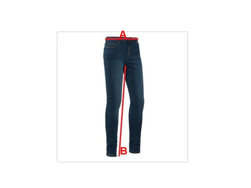 Brams Paris Kate C71 Mid Stone Used Jeansmaat