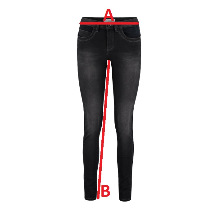 Red-Button-Jeans-Laila-Black Jeansmaat