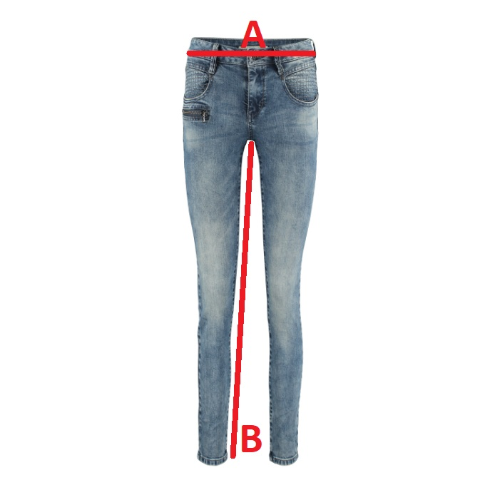 Red-Button-Jeans-Sissy-Vintage Jeansmaat