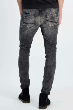 Cars Jeans Aron Super Skinny Black Used(1)