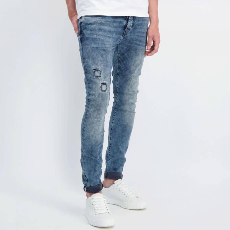 Cars Jeans Aron Super Skinny Blue Black