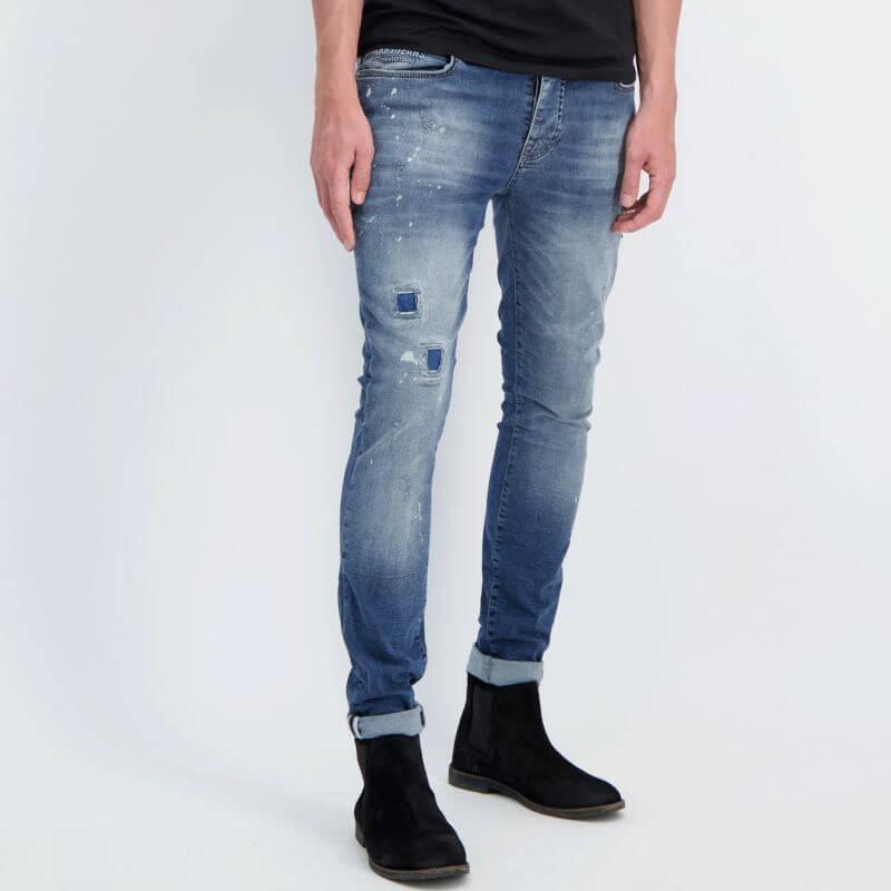 Cars Jeans Aron Super Skinny Dark Used