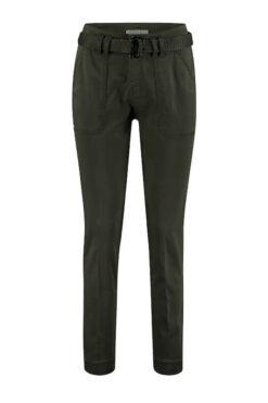 Red Button Jeans Diana jog Pocket Moss Green