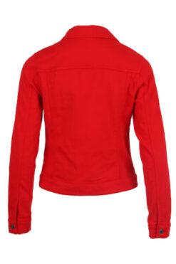 Enjoy jasje sweatstof uni Rood 923619