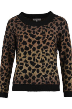 Enjoy sweater multi garen harig jaquard Sahara 420900