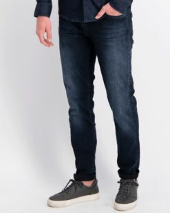 Cars Jeans Blast Slim Fit Denim Blue Black