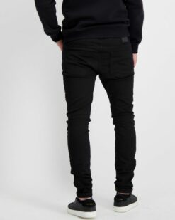 Cars Jeans Dust Super Skinny Twill Black