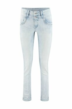Red Button Jeans Sienna White Bleach & Rivets