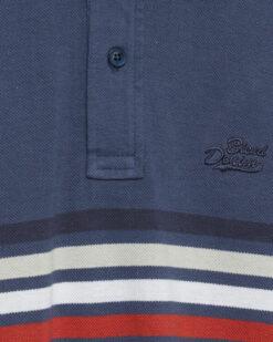 Blend Poloshirt Blue Denim 20711686