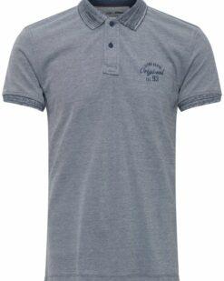 Blend Poloshirt Denim Grey 20712418