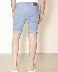 New Star Jeans Short Nyon printed twill Blue