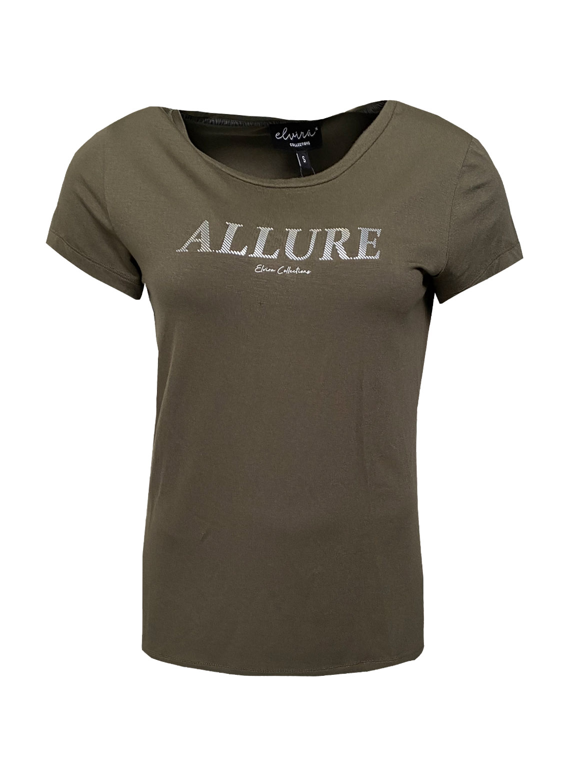 Elvira T-shirt Allure olive