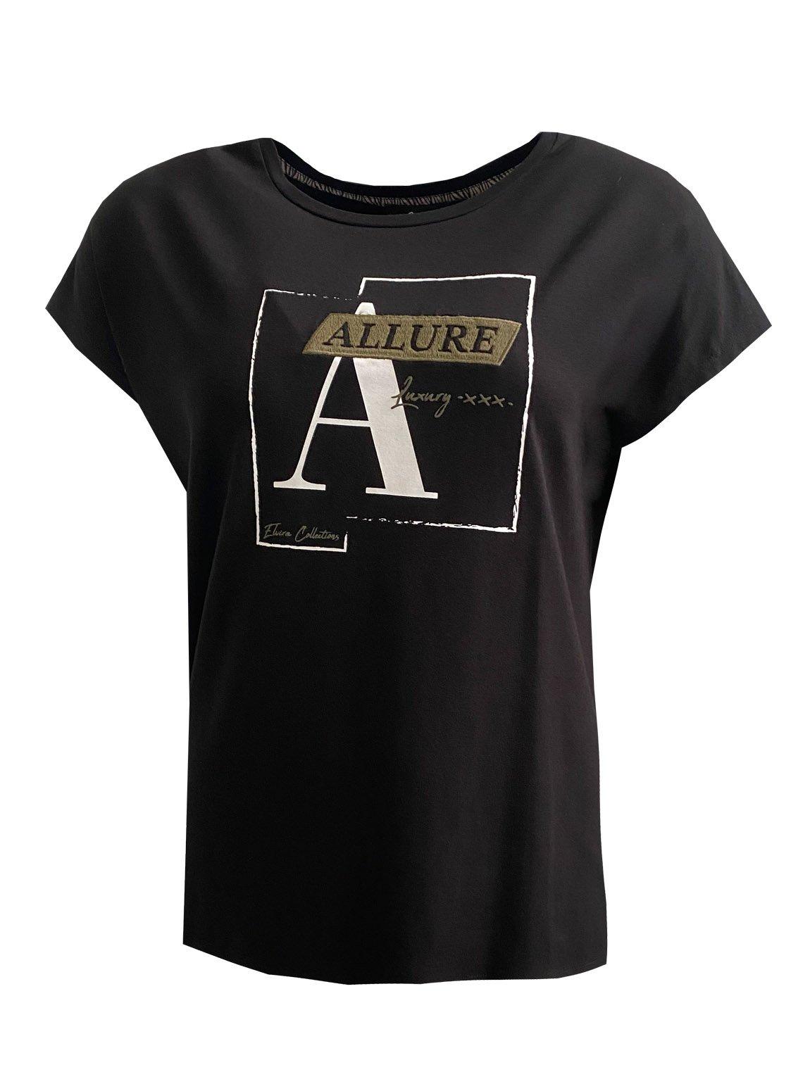 Elvira T-shirt Frame black