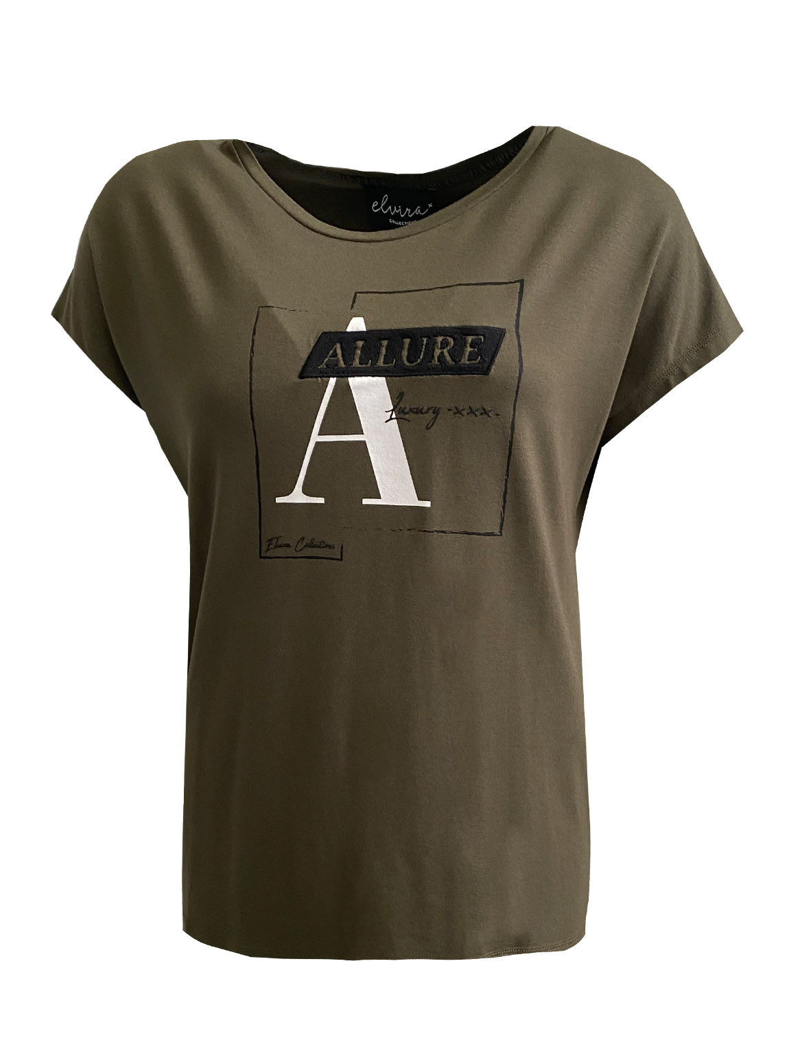 Elvira T-shirt Frame olive